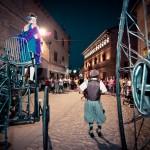 Pasacalles inaugural a cargo de Artea Teatro © Javier Rosa