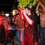 Público enloquecido con los valencianos
