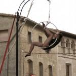 Actuación de Emmaluna en la Plaza Mayor © Clemente Calvo