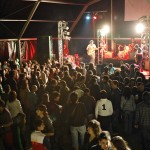 Vibrante actuación de Guadalupe Plata