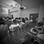 Proyección de cortometrajes © Javier Rosa