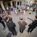 Actuación de Pixie Dixie en la Plaza Mayor © Javier Rosa